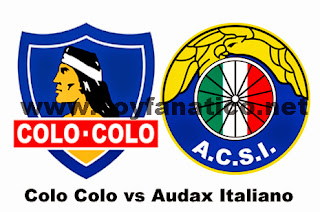 Colo Colo vs Audax Italiano 2015. Hora y donde verlo