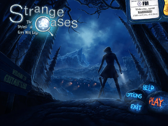 Strange Cases: The Secrets of Grey Mist Lake Main menu
