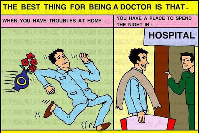 The Best Thing for Being a Doctor-Funny Image
