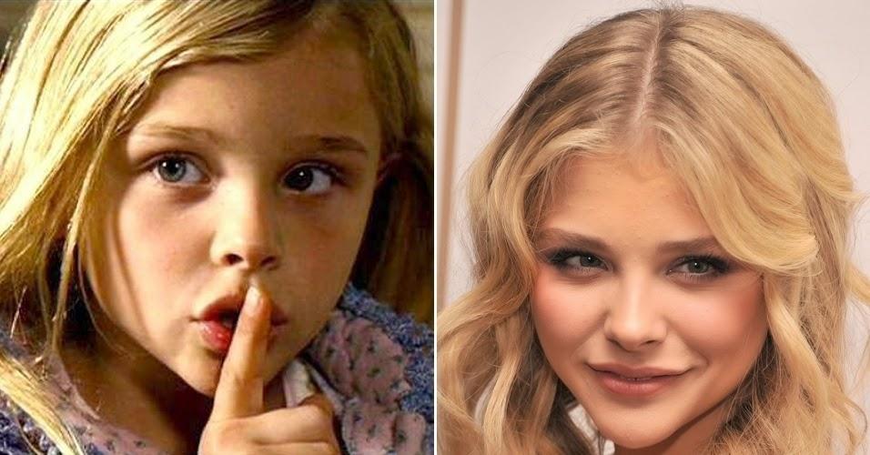 Atores mirins cresceram, veja como estã agora Chloë Grace Moretz
