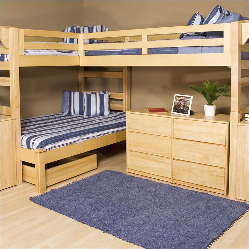 Triple Bunk Bed Plans 800 x 800
