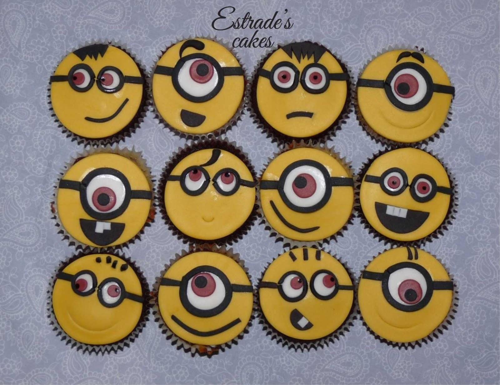 cupcakes de minions - 2