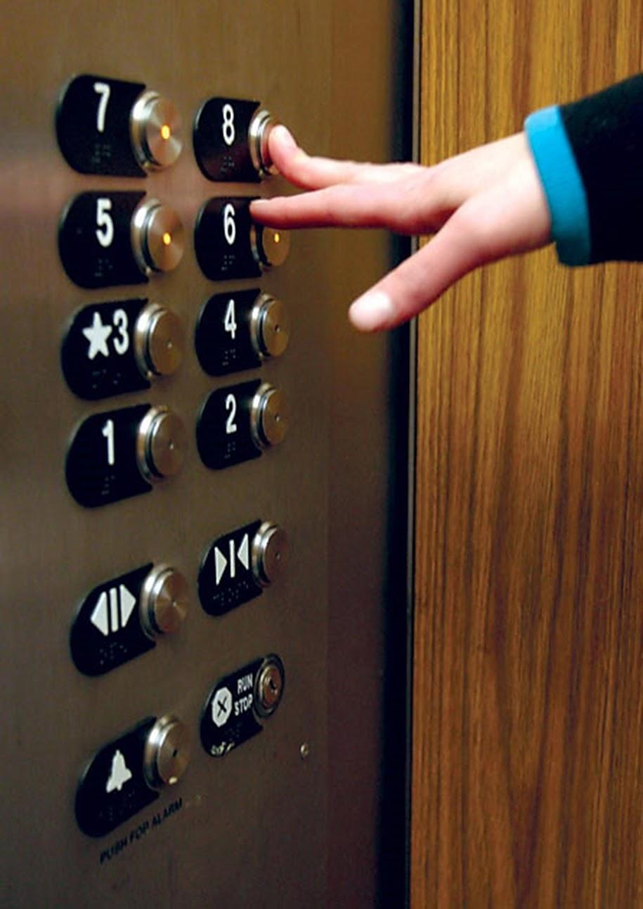 cuento corto, elevador