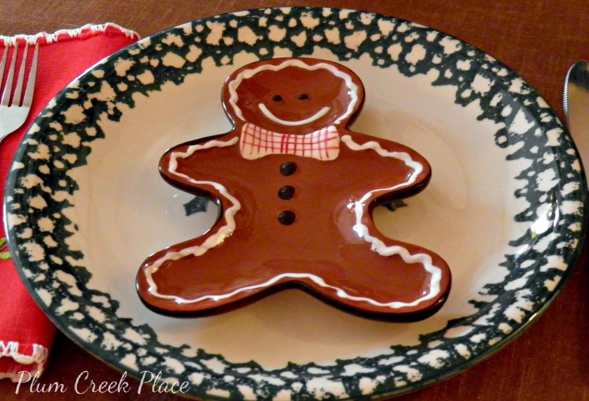 Plum Creek Place - Gingerbread Tablescape