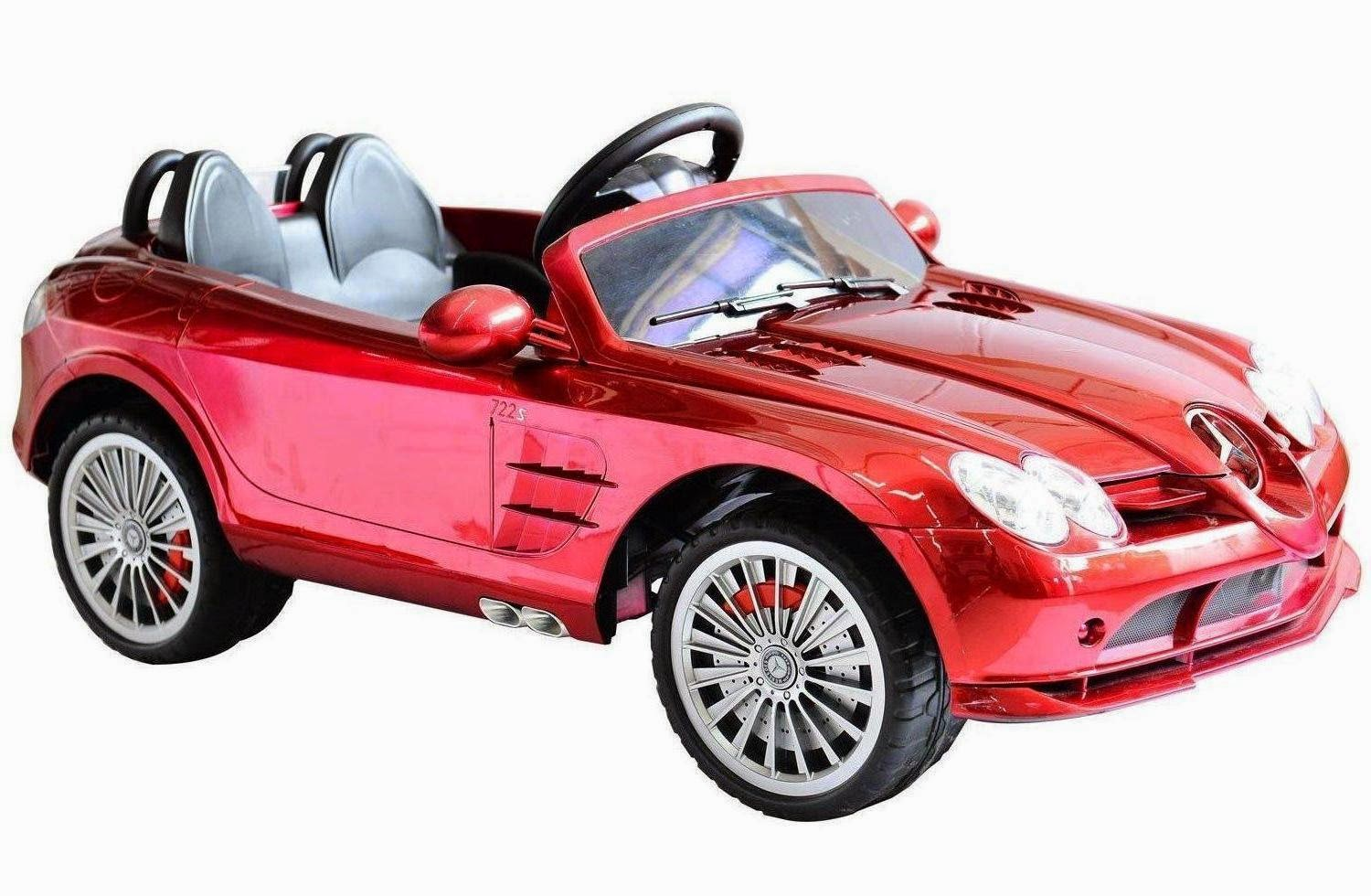 Mercedes benz 722s kids 12v electric ride on toy car w for Mercedes benz toy car ride on