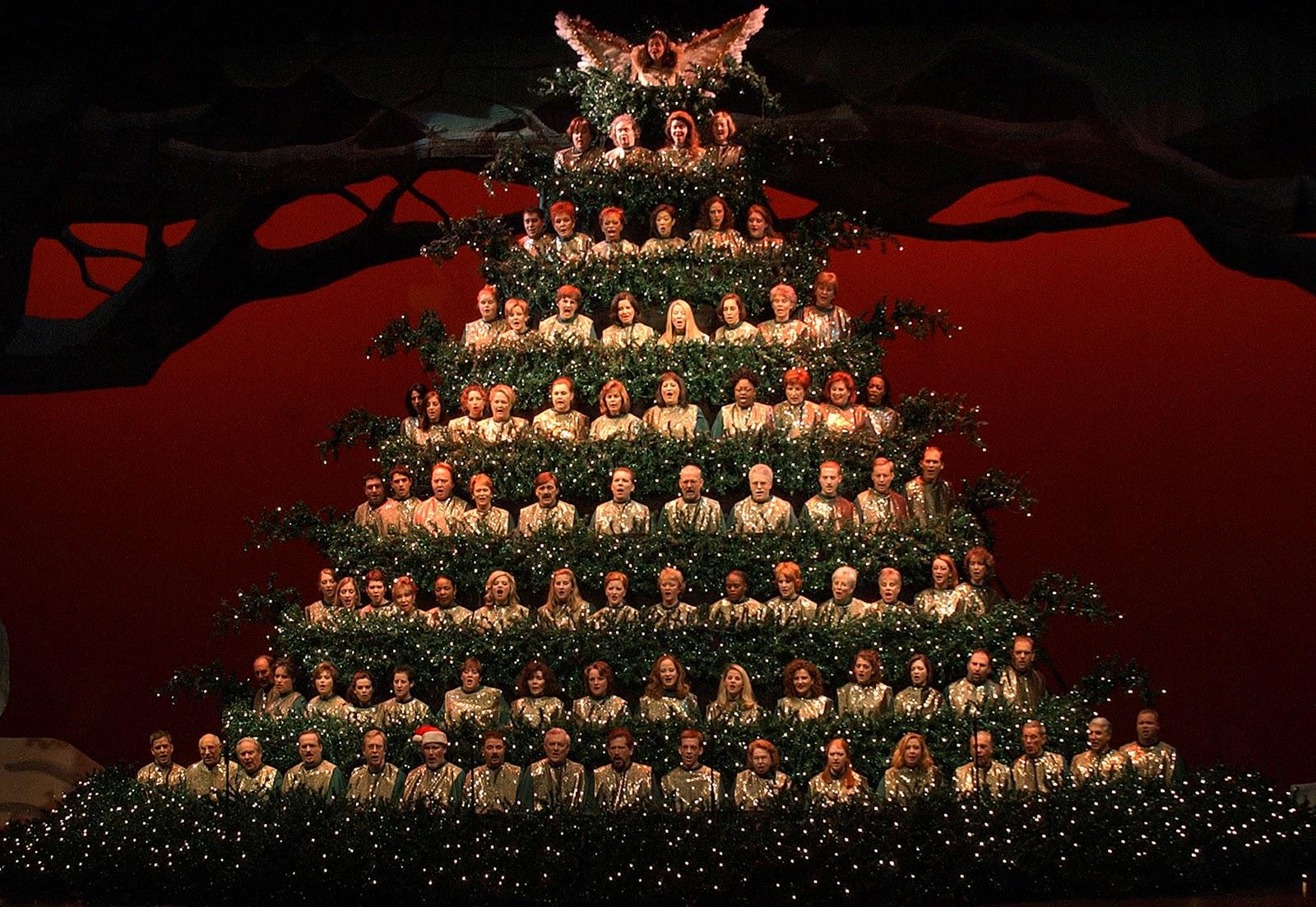christmas trees singing tree - photo #1