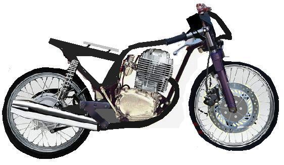 Honda CB Drag Bike Modifikasi Terbaru title=