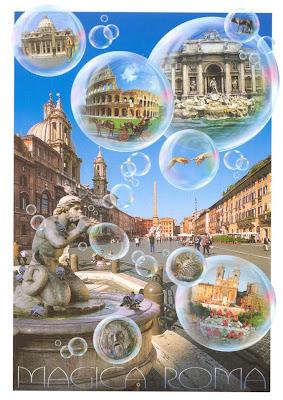 Magica Roma - Carte Postale !!!