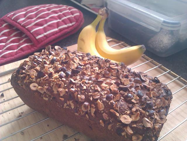 Banana Walnut Cranberry Tea Loaf