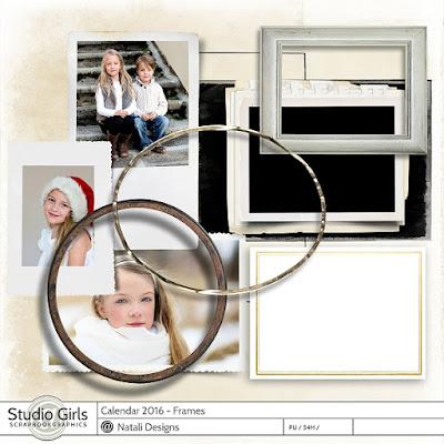 http://shop.scrapbookgraphics.com/2016-Calendar-Frames.html