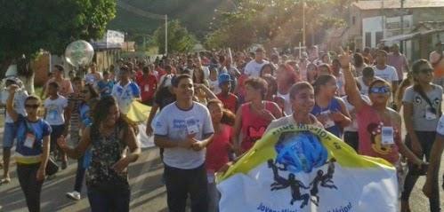 Juventude Missionária da diocese de Porto Nacional (TO) realiza formação missionária