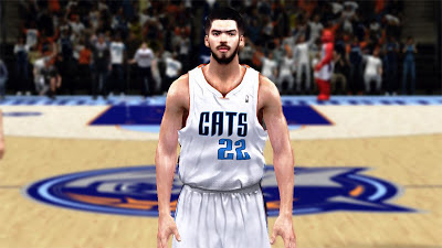 NBA 2K13 Byron Mullens Realistic Face Mods