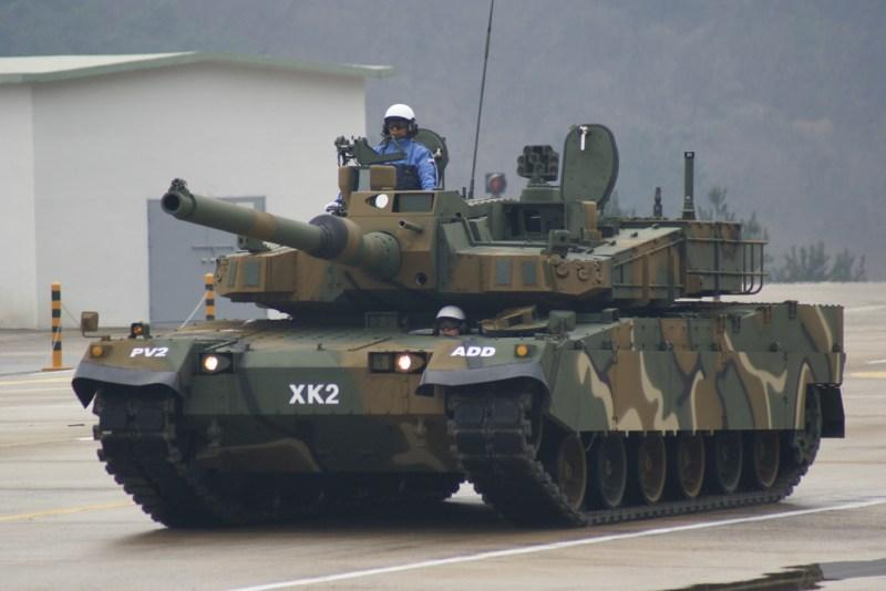 3 نمور كورية جنوبية التهمت الشوليما الشمالي! Tank_XK-2_South-Korea_Black_panther_004
