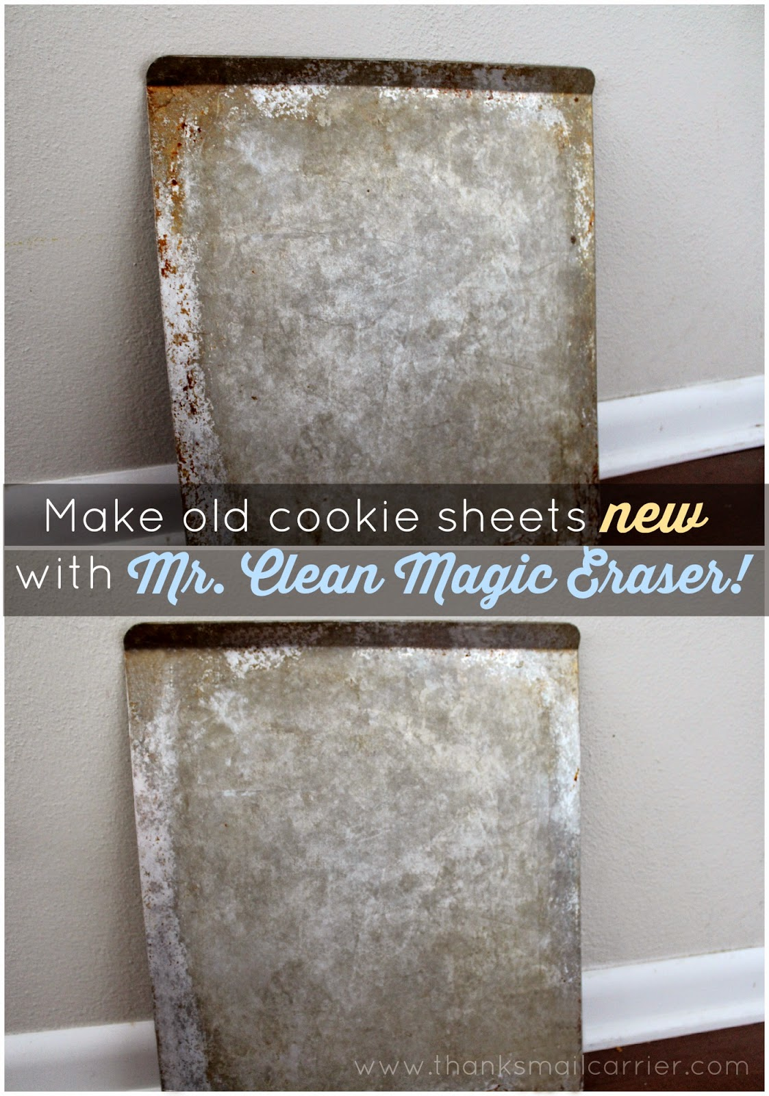 Mr. Clean Magic Eraser cookie sheets
