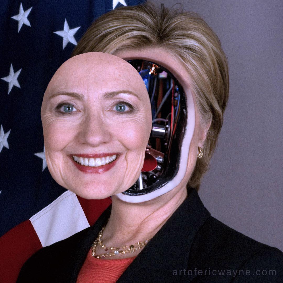 robotic hillary