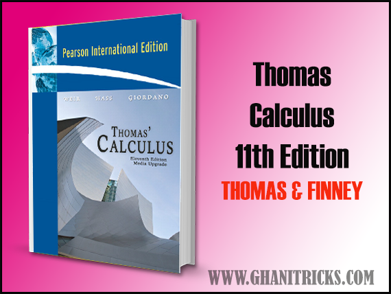 Thomas Calculus 11th Edition