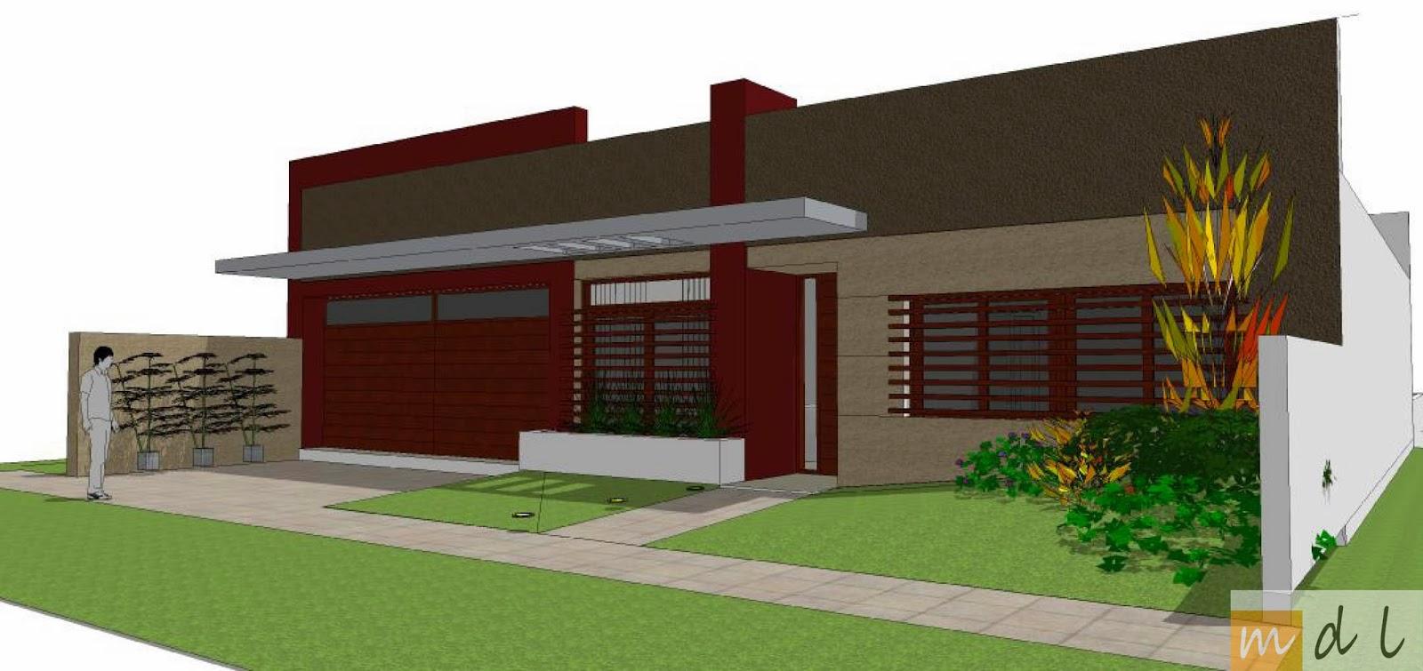 Arquitecta miriam di leo dise o exterior vivienda - Diseno vivienda unifamiliar ...