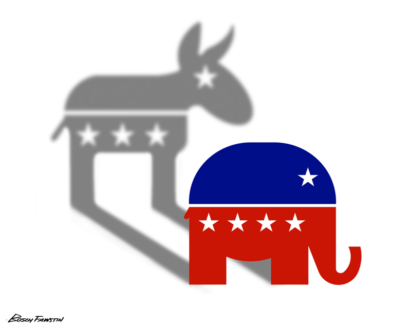 essays on democrats and republicans The united states of america's two major political parties today came about due to evolution and not by statutory or constitutional creation.