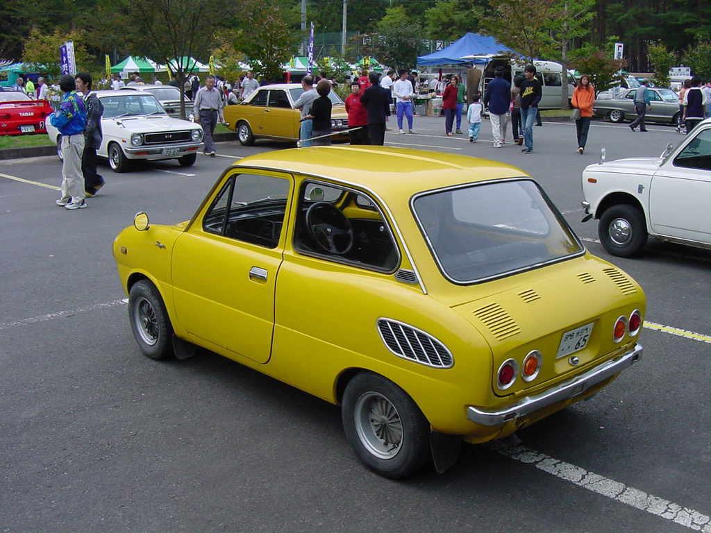 Suzuki Fronte 360, małe samochody, kei car, stara motoryzacja, auta z dawnych lat