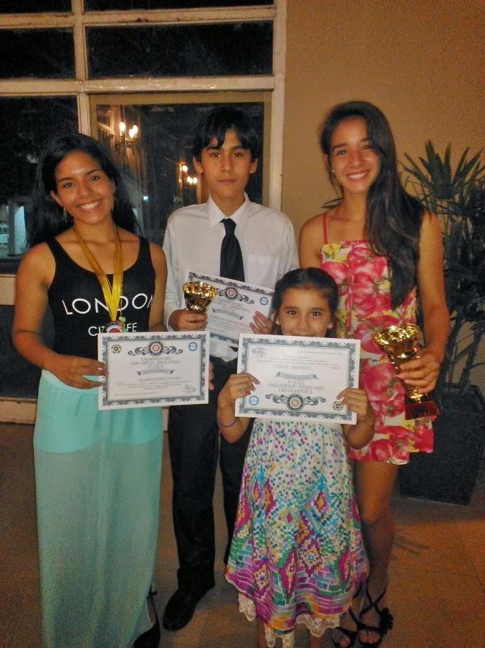 Premiación Asociación Santiagueña 2013