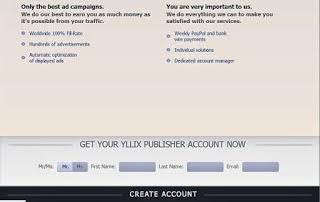 Cara Daftar Ke Yllix Dan Mendapatkan Kode Iklan Yllix.com