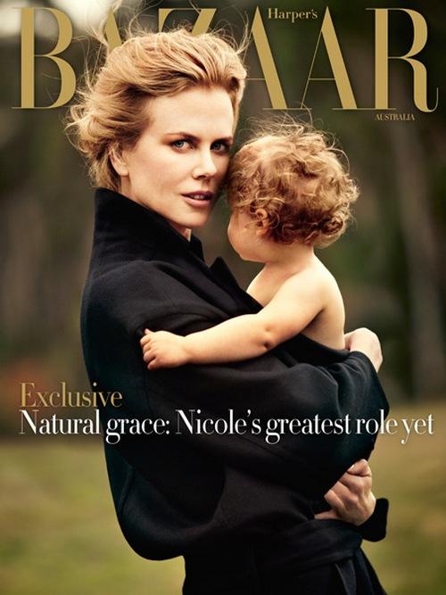 Nicole Kidman Harpers Bazaar Australia cover