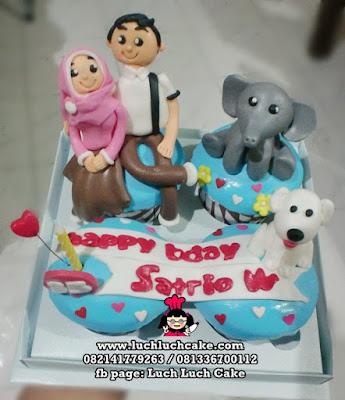 Cupcake Binatang Daerah Surabaya - Sidoarjo