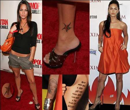 megan fox tattoos on back. megan fox tattoos back. megan