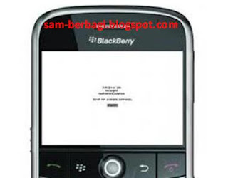 KODE ERROR BLACKBERRY