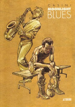 Dibujo de interprestes de blues