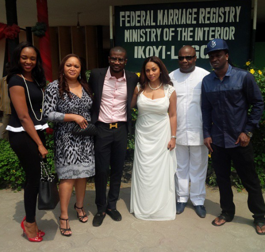 peter okoye court wedding