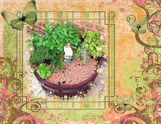 Jardin parfum plaisirs du jardin la jardini re de fines herbes - Vieil evier en pierre ...