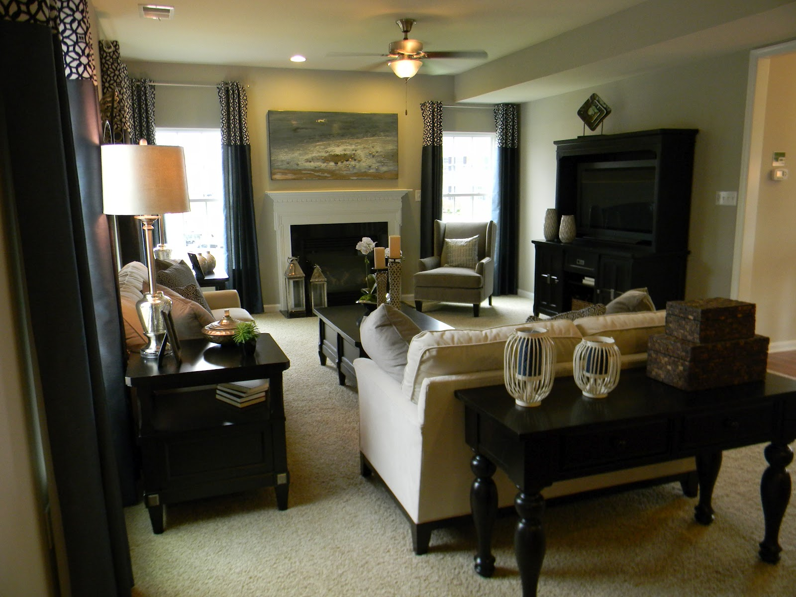 seaside interiors stopping by the model home