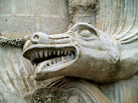El Drac del Pecat al Monument al Pare Claret
