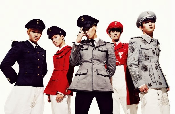 SHINee tops Taiwan's music chart for two consecutive weeks