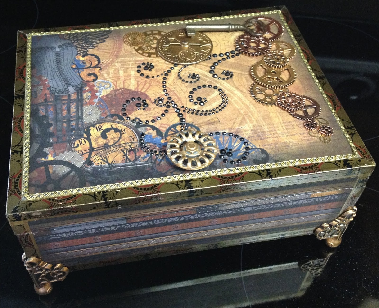 paper paws etc cigar box 20 steampunk published