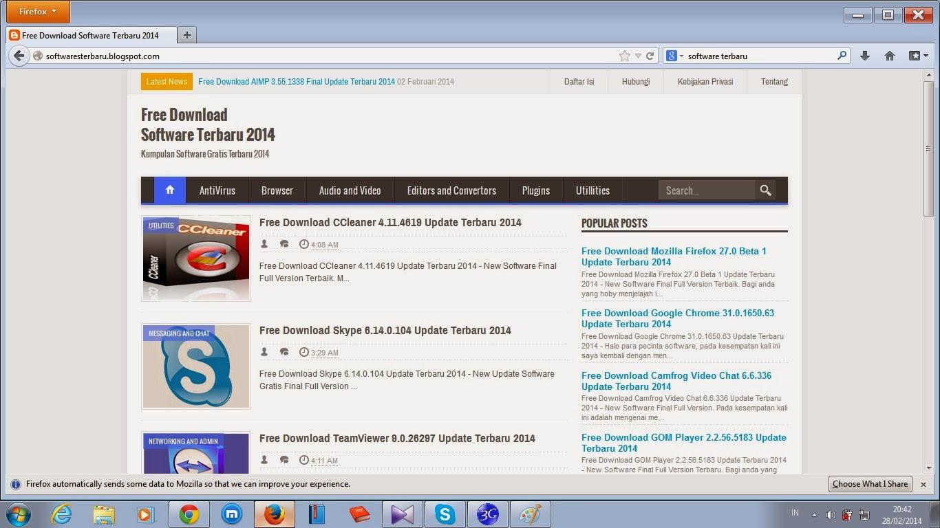 Mozilla Firefox 20 0 Beta 7 [Русский]