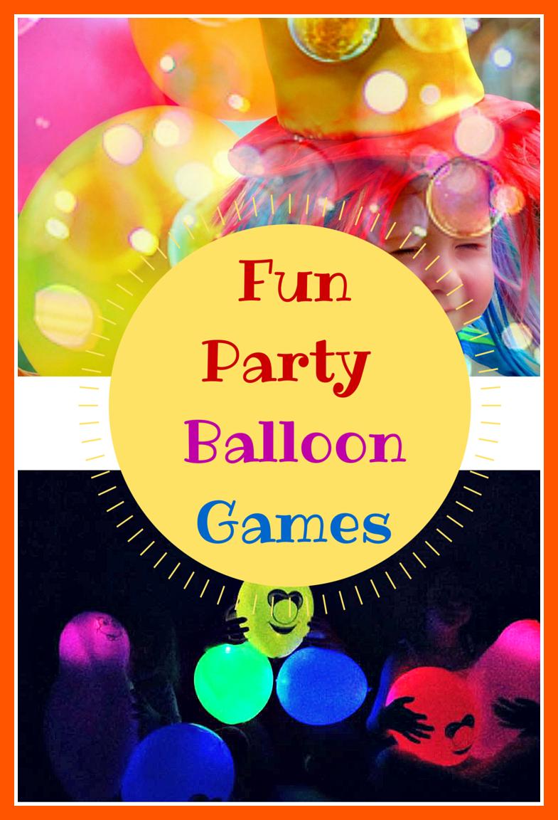 Fun Party Balloon Games. - Montessori Nature