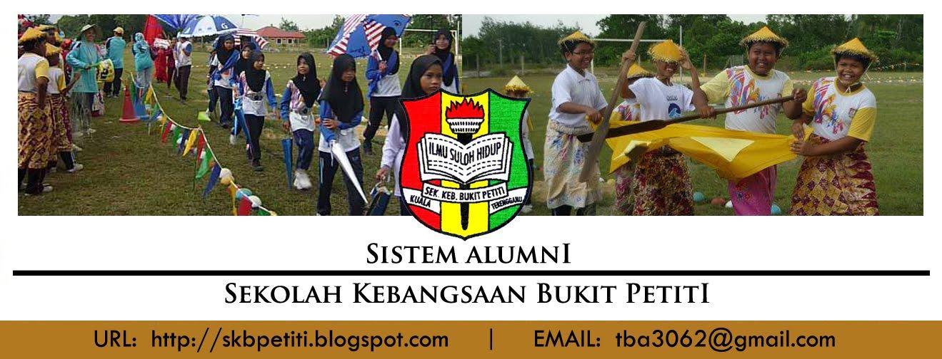 SK Bukit Petiti sedang mengumpul maklumat bekas murid dan guru SK