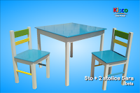 Dečiji stolovi i stolice