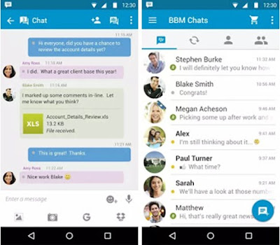 Download Ubdate BBM Official Versi 2.9.0.45 Apk