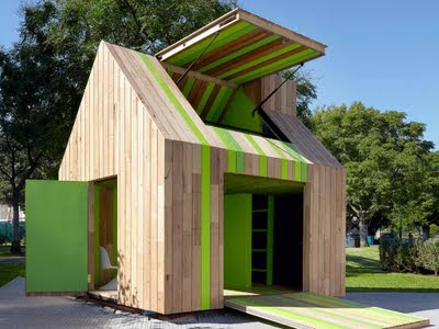 Relaxshacks Com A Truly Quot Green Quot Playhouse Possible