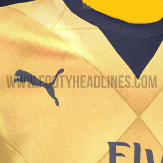 Rilis Jersey  Arsenal Away 2015/2016