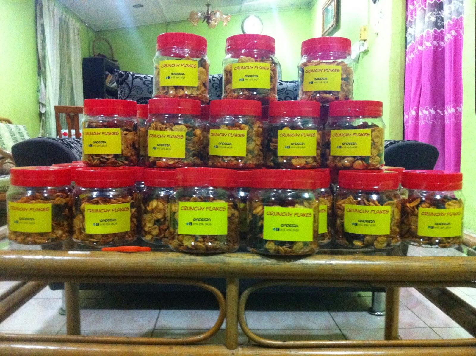 Crunchy Flakes By Qisya Khadeeja Agent di Kuala Lumpur dan Cheras Kuala Terengganu Kota Bharu