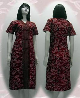 PO%2B080 MODEL BAJU BATIK WANITA MODERN