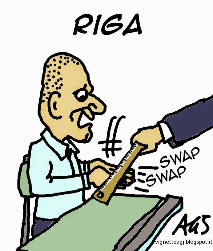 Varoufakis, eurogruppo, grecia, euro, satira, vignetta