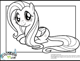 Dress My Little Pony Coloring Pages