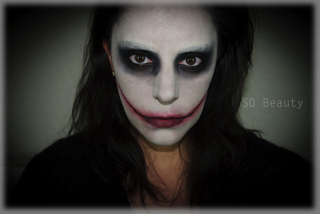 Maquillaje Jeff The Killer, Jeff The Killer makeup  Halloween Silvia Quirós
