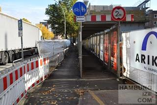 Ludwig-Erhard-Straße - Baustelle