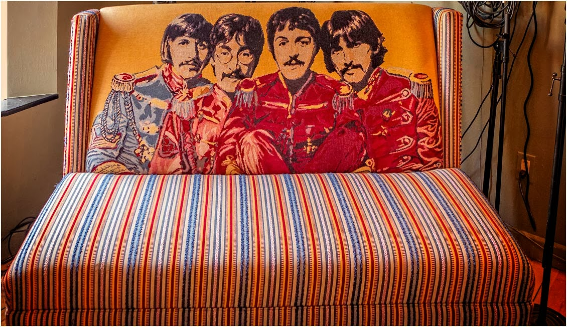 Silverpixel Beatles Couch Perth Ontario